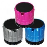 PARLANTE C/BLUETOOTH CILINDRO COLORES CON RAYAS MINI MUSIC YES