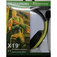 AURICULAR GAMER X19 PS4 - XBOX ONE