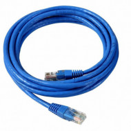 CABLE DE RED PACH CORD 3MTS AZUL DINAX