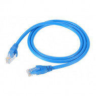 CABLE DE RED PACH CORD 1.5MTS AZUL DINAX