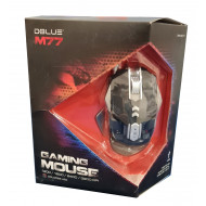 MOUSE GAMER 3200DPI M77 CABLE 1.5MT DBLUE