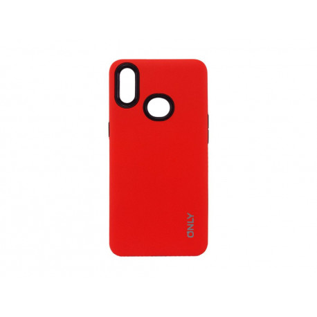 TPU SAMSUNG A30 ROJO ONLY