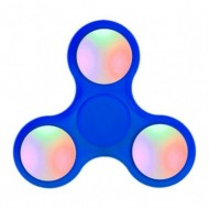 SPINNER ANTI STRESS COLORES 1 RULEMAN C/LUCES C/LLAVE