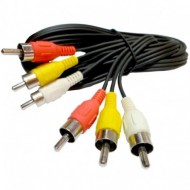 CABLE RCA M/M X 3 1.80M PCD