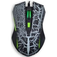 MOUSE GAMER ST-334 NEGRO CON BLANCO NOGANET