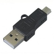 ADAPTADOR USB M A MINI USB M