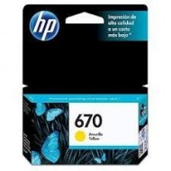 CARTUCHO HP 670 AMARILLO