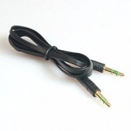 CABLE 3.5 M/M 2MTS TIPO CINTA NEGRO CBL-1617 ONLY