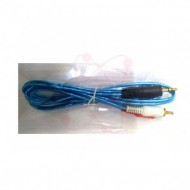 CABLE 3.5M A RCA X 2 1.5TS COLORES