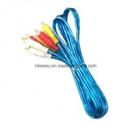 CABLE RCA M/M X 3 1.5TS COLORES