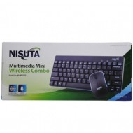 TECLADO + MOUSE WLS NS-WI67CO
