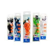 CABLE 3.5 M/M 1MTS COLORES XTG-212 ONTHEGO