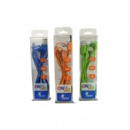 CABLE I-PHONE LIGHTNING COLORES ON THE GO XTG-216 X-TECH