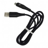 CABLE USB TIPO C 2.4A 1M NEGRO MOD.44 ONLY