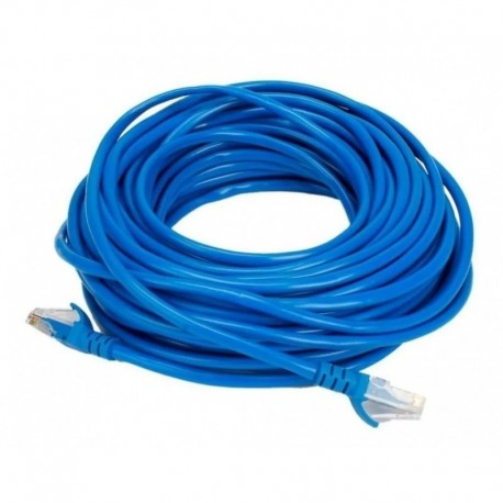 CABLE DE RED PACH CORD 10MTS AZUL DINAX