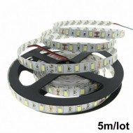 TIRA DE LED BLANCO ALTO BRILLO 5050 12V 5MTS INTERIOR